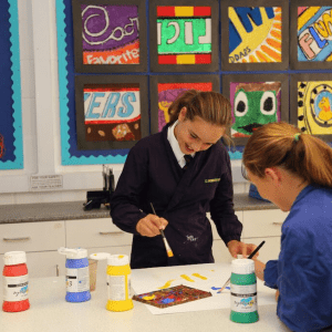 Creative learning at St Peter's