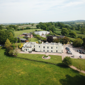 Overhead photo of St Peter's school and grounds